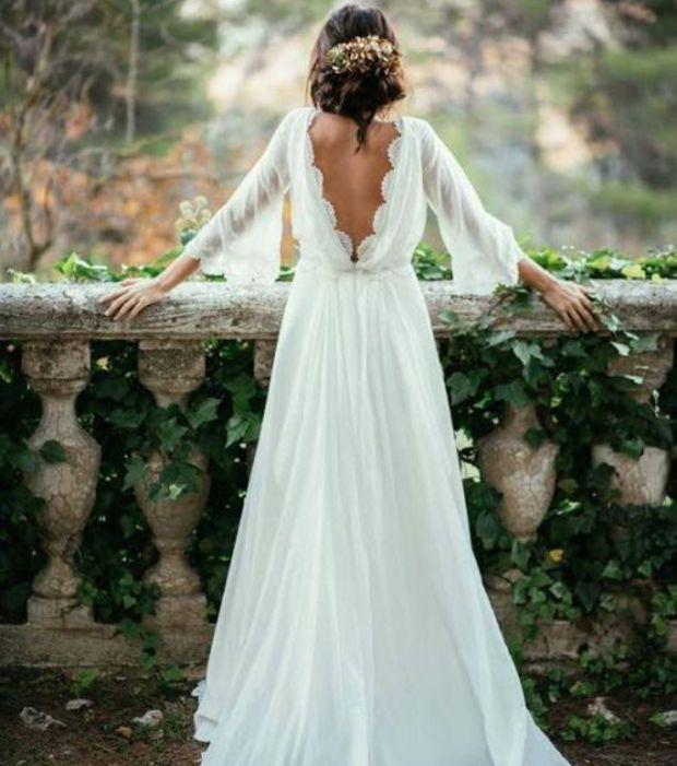 Portfolio robe mariée dos nu